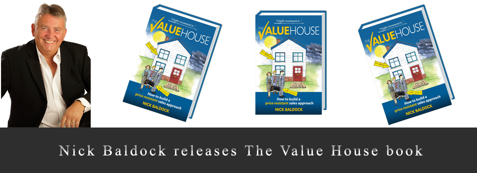 Nick Baldock releases The Value House book